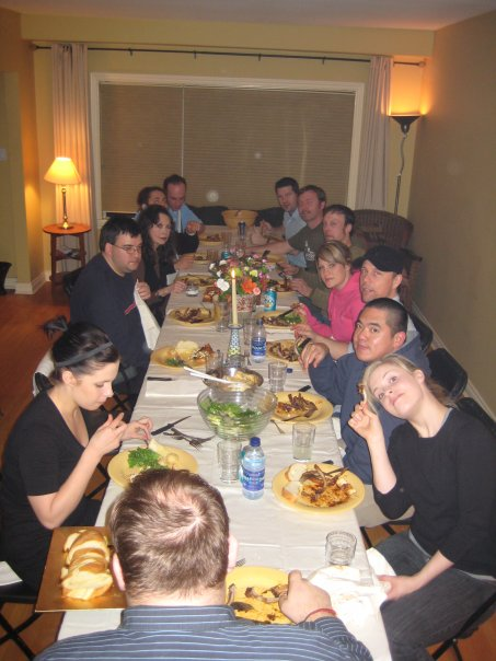 Paul's Birthday Party - who wouldn't want to be celebrated at this table of friends?