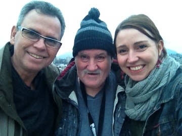 Fred Ford, Richard McDonald and Meaghan Feduck