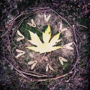 Mandala and photo by Christy Tweedy